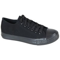 Chaussures Homme Baskets basses Kebello Baskets 80059 All Black noir
