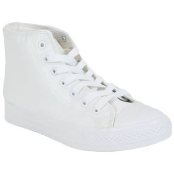 Chaussures Homme Baskets montantes Kebello Baskets 80054-2 blanc