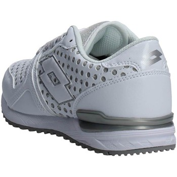 Chaussures Femme Baskets basses Lotto S7862 Sneakers Femme Blanc/Argent Blanc/Argent