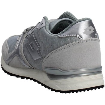 Chaussures Homme Baskets basses Lotto S8156 Sneakers Homme Suède/tissu  Gris glace Gris glace