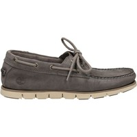 Chaussures Homme Mocassins Timberland TIDELANDS 2 EYE Gris