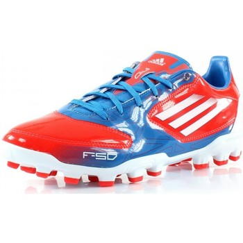 Chaussures Homme Football adidas Performance F10 TRX AG Bleu / Rouge