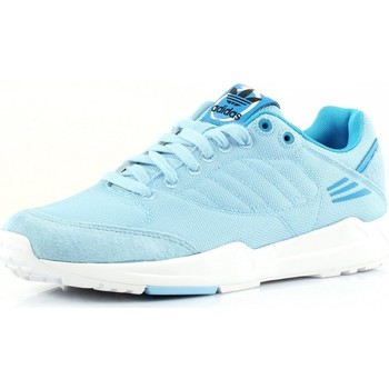 Chaussures Femme Baskets basses adidas Originals Tech Super W Bleu