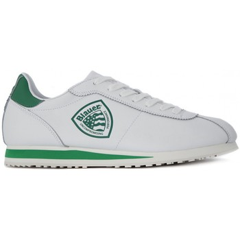 Chaussures Homme Baskets basses Blauer BOWLING LEA GREEN Bianco