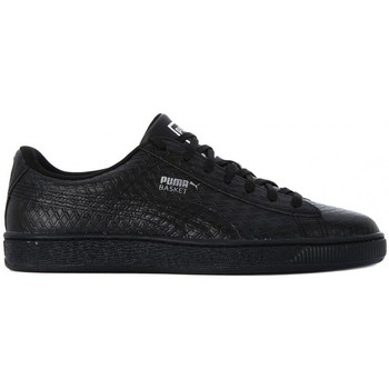 Chaussures Homme Baskets basses Puma BASKET CLASSIC B W Nero