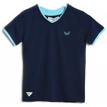 Vêtements Garçon T-shirts & Polos Kaporal T-Shirt Ceros Denim Blue Bleu