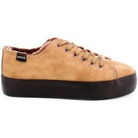Chaussures Femme Baskets basses MTNG 56399 beige