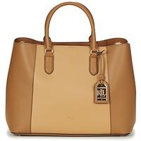 Sacs Femme Sacs porté main Ralph Lauren DRYDEN MARCY TOTE Cognac / Camel
