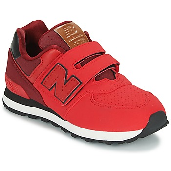 Chaussures Enfant Baskets basses New Balance KV575 Rouge / Noir