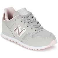 Chaussures Fille Baskets basses New Balance KJ374 Gris / Rose