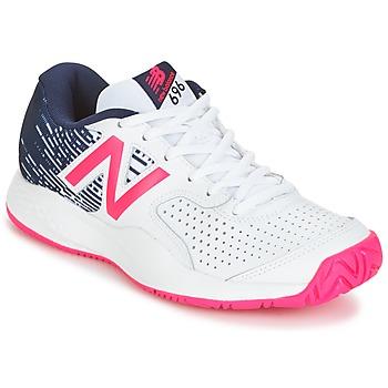 Chaussures Femme Tennis New Balance WC697 Blanc