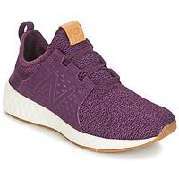 Chaussures Femme Running / trail New Balance CRUZ Bordeaux