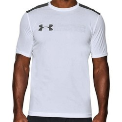 Vêtements Homme T-shirts & Polos Under Armour UA Raid Mocrothread Graphic SS Tee 1286059-100 Grey,White