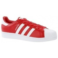 Chaussures Baskets basses adidas Originals SUPERSTAR red rouge