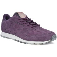 Chaussures Femme Baskets basses Reebok Sport Classic Leather Shmr Violet