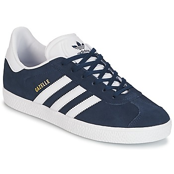 Chaussures Enfant Baskets basses adidas Originals GAZELLE J Marine