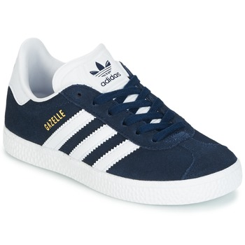 new product 95725 946ff Chaussures Garçon Baskets basses adidas Originals Gazelle C Marine
