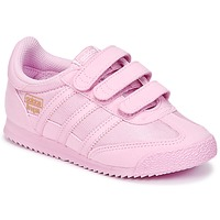 Chaussures Fille Baskets basses adidas Originals DRAGON OG CF I Rose
