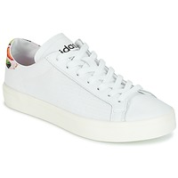 Chaussures Femme Baskets basses adidas Originals Court Vantage Blanc / Fleurs