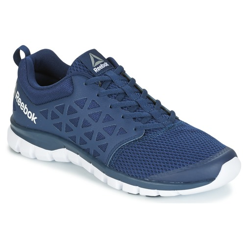 Chaussures Homme Running / trail Reebok Sport SUBLITE XT CUSHION Marine / Blanc