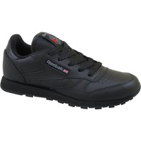 Chaussures Enfant Baskets basses Reebok Sport Classic Leather Noir