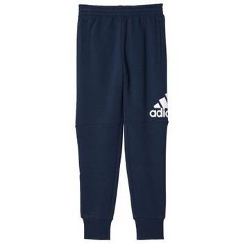 Vêtements Garçon Pantalons de survêtement adidas Originals Pantalon junior Essentials Printed  navy Marine