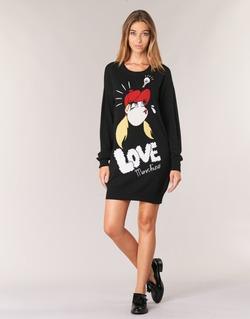 Vêtements Femme Robes courtes Love Moschino WS45S01X0608 Noir