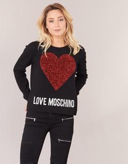 Vêtements Femme Pulls Love Moschino WS89G01X0683 Noir