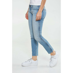 Vêtements Femme Jeans slim Shine Paris Jeans  Native Cropped Skinny Bleu Clair Homme Bleu