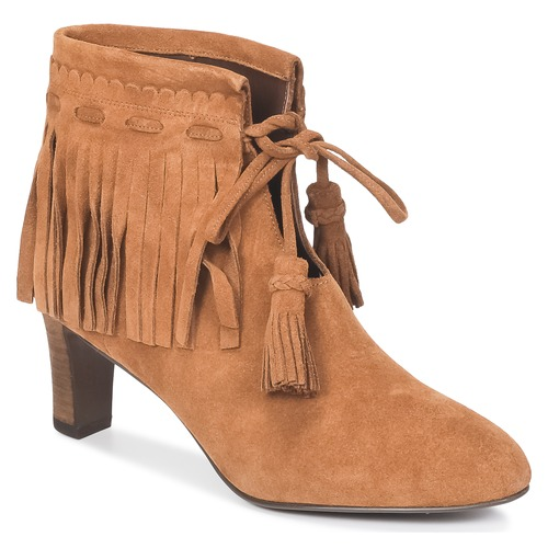 Chaussures Femme Bottines See by Chloé FLARIL Cognac
