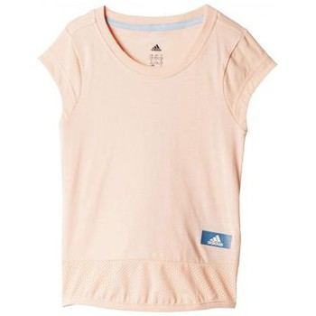 Vêtements Fille Débardeurs / T-shirts sans manche adidas Originals Tee shirt ID long rose