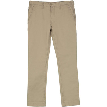 Chinots Cheap monday pantalon slim chino beige femme
