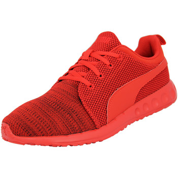 Chaussures Homme Baskets basses Puma CARSON CAMO KNIT Chaussures Mode Sneakers Homme Rouge rouge