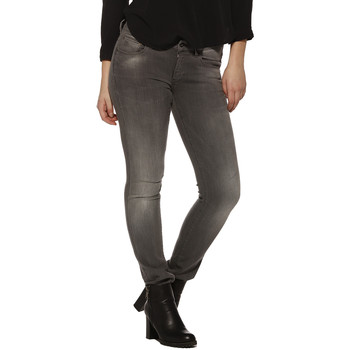 Vêtements Femme Jeans G-Star Raw Jeans FEMME - Attacc mid straight medium aged_Slander grey supe Gris