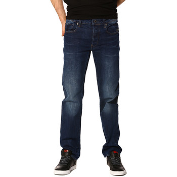 Vêtements Femme Jeans G-Star Raw Jeans HOMME - Revend straight accel stretch denim_Medium aged Bleu