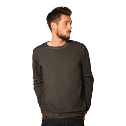 Vêtements Femme Sweats Japan Rags Sweat HOMME - BIRD_ZINC Gris