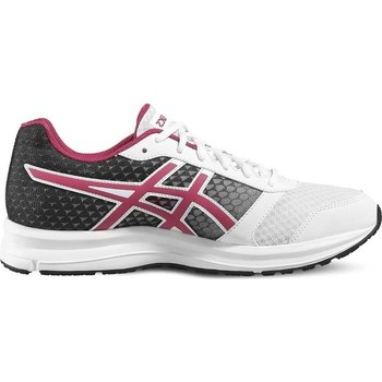 Chaussures Running / trail Asics Patriot 8 Blanc-Noir-Rose