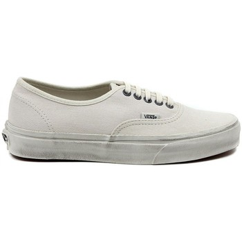 Chaussures Homme Baskets basses Vans Authentic Overwashed Blanc