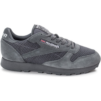 Chaussures Homme Baskets basses Reebok Sport Classic Leather Knit Gris