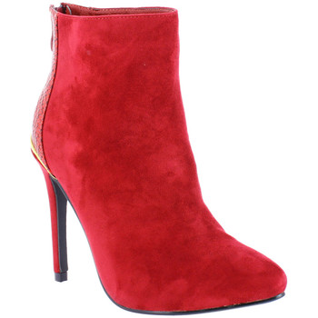 Chaussures Femme Bottines Zaza Pata Bottines IRIS rouge