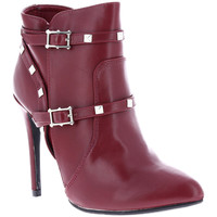 Chaussures Femme Bottines Zaza Pata Bottines LUCILE rouge