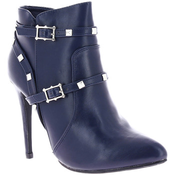 Chaussures Femme Bottines Zaza Pata Bottines LUCILE bleu marine