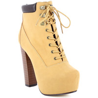 Chaussures Femme Bottines Zaza Pata Bottines LALY camel