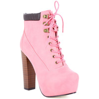 Chaussures Femme Bottines Zaza Pata Bottines LALY rose