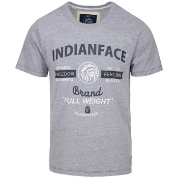 Vêtements Homme T-shirts manches courtes The Indian Face Tee Shirt MAXENCE gris