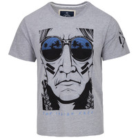 Vêtements Homme T-shirts manches courtes The Indian Face Tee Shirt EVAN gris