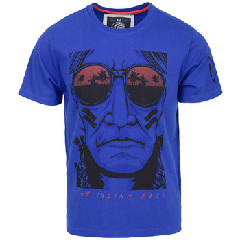 Vêtements Homme T-shirts manches courtes The Indian Face Tee Shirt EVAN bleu