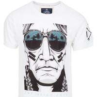 Vêtements Homme T-shirts manches courtes The Indian Face Tee Shirt EVAN blanc