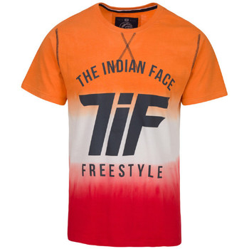 Vêtements Homme T-shirts manches courtes The Indian Face Tee Shirt THOMAS orange
