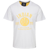 Vêtements Homme T-shirts manches courtes The Indian Face Tee Shirt LENNY blanc
